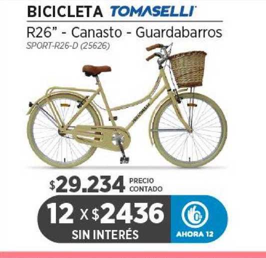 Genesio Hogar Bicicleta Tomaselli R26