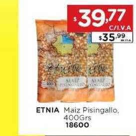 Hiper May Etnia Maiz Pisingallo, 400Grs 18600