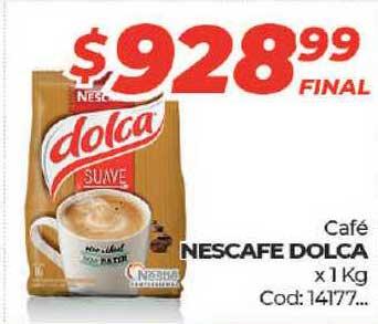 Diarco Café Nescafe Dolca X 1 Kg