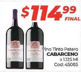 Diarco Vino Tinto Patero Cabarceno X 1.125 Ml