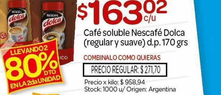 Josimar Café Soluble Nescafé Dolca