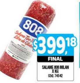 Supermercados Yaguar Salame 808 Milan