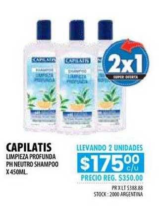 Pigmento Capilatis Limpieza Profunda PH Neutro Shampoo