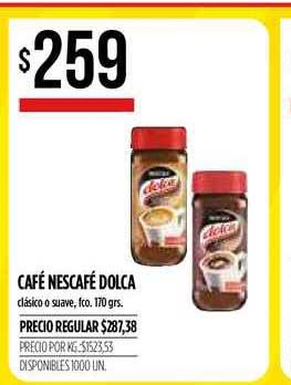Supermercados Vea Café Nescafé Dolca