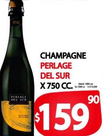 Supermercados Mariano Max Champagne Perlage Del Sur