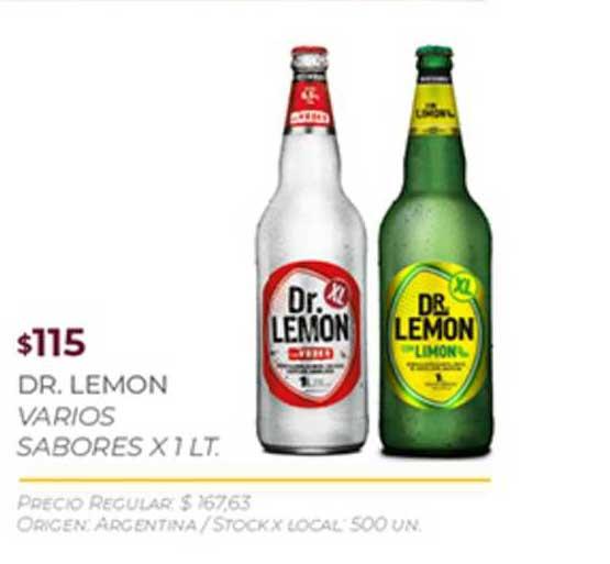 Disco Dr. Lemon Varios Sabores X 1 LT.