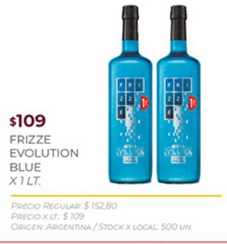 Disco Frizze Evolution Blue X 1 LT.