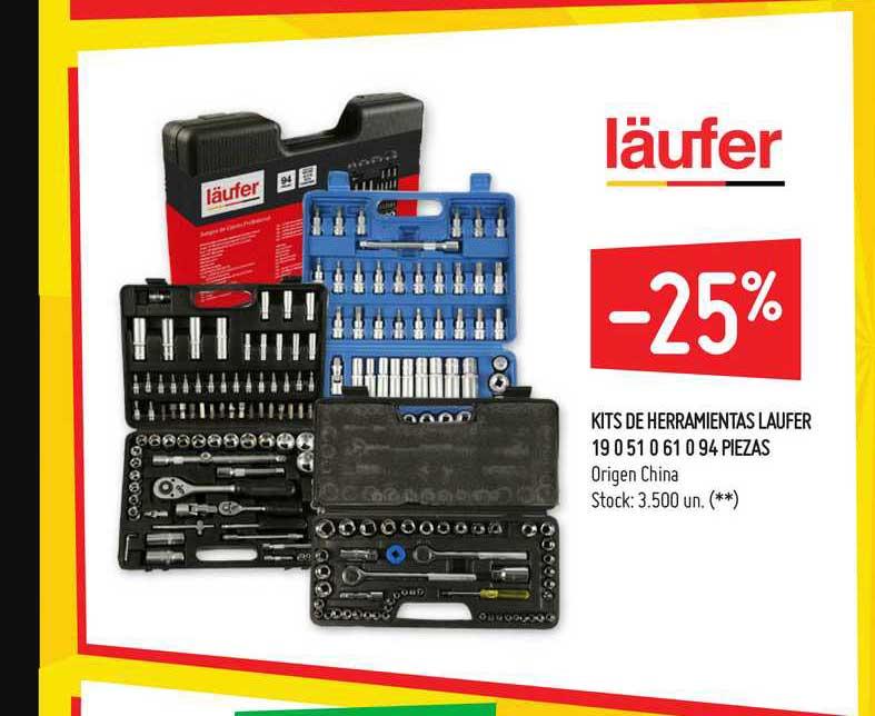 Walmart Kits De Herramientas Laufer 19 0 51 0 61 0 94 Piezas