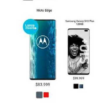 Claro Moto Edge Samsung Galaxy S10 Plus 128 Gb