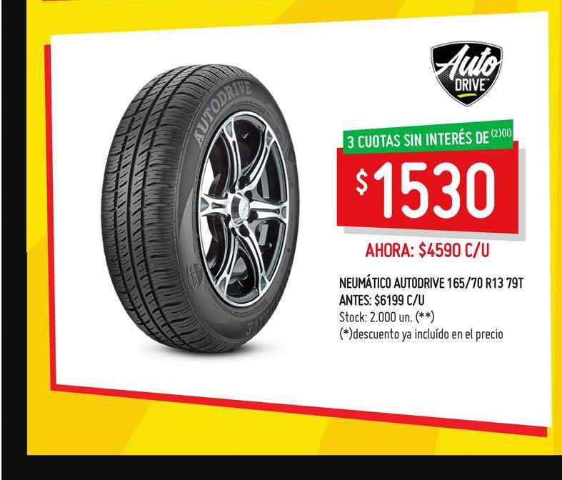 Walmart Neumático Autodrive 165-70 R13 79T