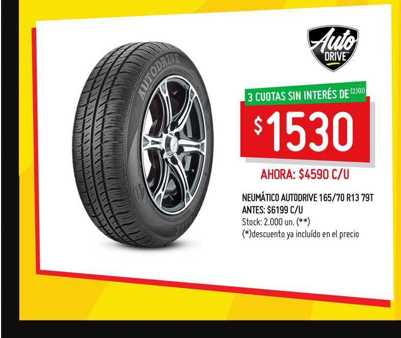 Changomas Neumático Autodrive 165-70 R13 79T