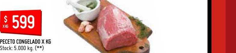 Diploma Instantáneamente dieta  Oferta Peceto De Novillo en Carrefour