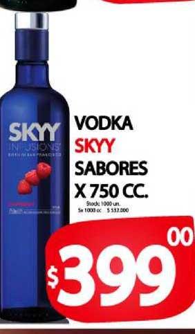 Supermercados Mariano Max Vodka Skyy