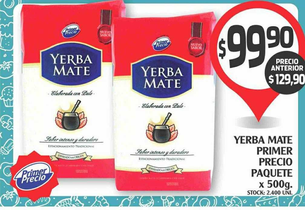 Supermercados Malambo Yerba Mate Primer Precio Paquete