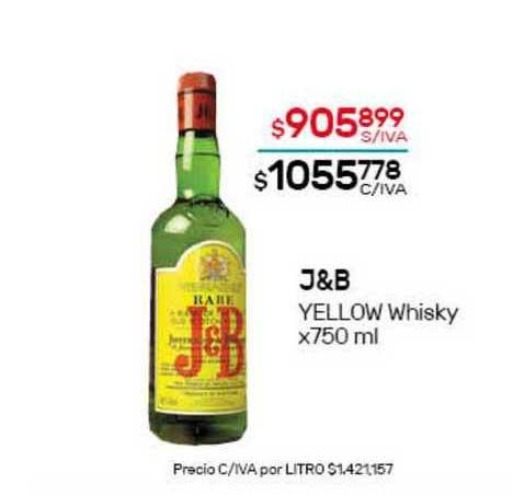 Nini Mayorista J&b Yellow Whisky