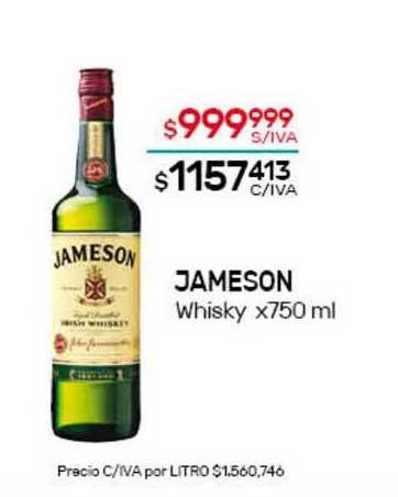 Nini Mayorista Jameson Whisky