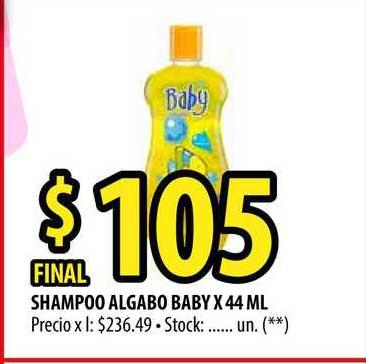 Punto Mayorista Shampoo Algabo Baby