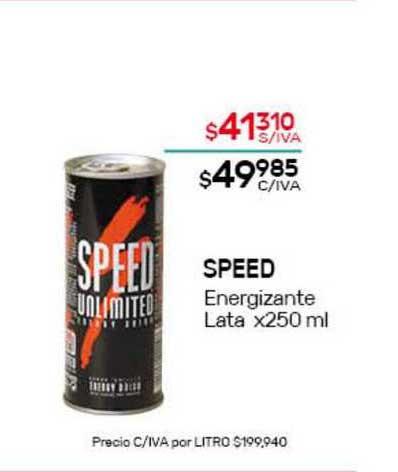 Nini Mayorista Speed Energizante Lata