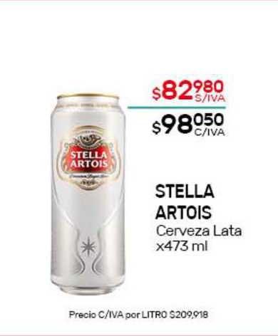 Nini Mayorista Stella Artois Cerveza Lata