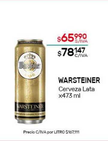Nini Mayorista Warsteiner Cerveza Lata