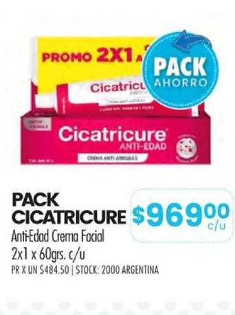 Pigmento Pack Cicatricure Anti-Edad Crema Facial 2x1 X 60grs. C-u