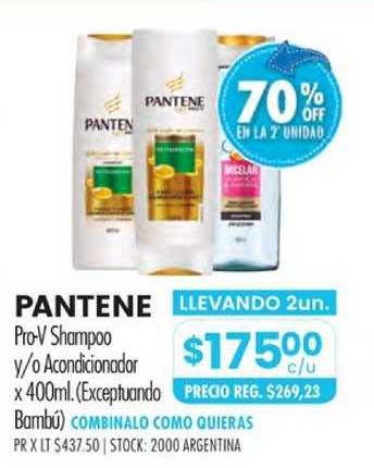 Pigmento Pantene Pro-V Shampoo Y-o Acondicionador X 400ml.