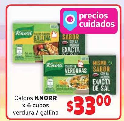 Borbotti Hipermercado Caldos Knorr X 6 Cubos Verdura - Gallina