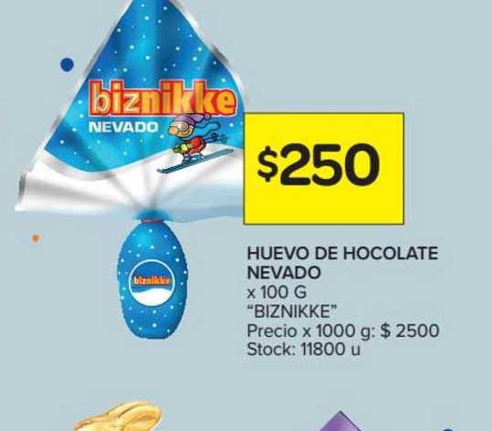 Carrefour Market Huevo De Chocolate Nevado X 100 G
