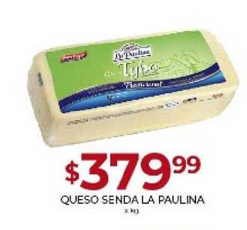 Supermercados Tadicor Queso Senda La Paulina