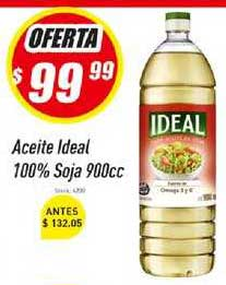 Supermercados Comodin Aceite Ideal 100% Soja