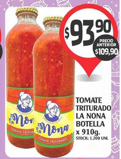Supermercados Malambo Tomate Triturado La Nona Botella