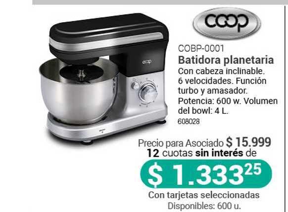Cooperativa Obrera COBP-0001 Batidora Planetaria