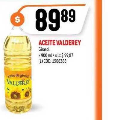 MAKRO Aceite Valderey Girasol