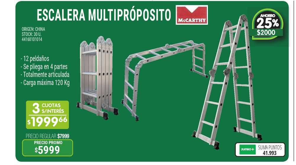 Jumbo Escalera Multipróposito
