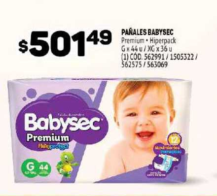 MAKRO Pañales Babysec