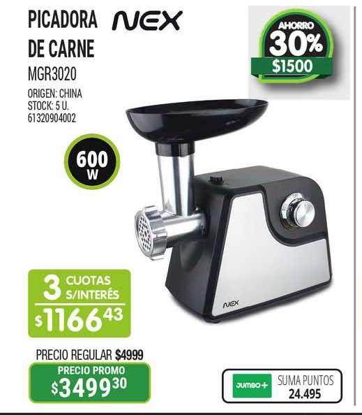 Jumbo Picadora De Carne MGR3020