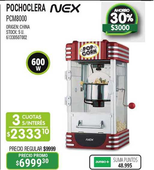 Jumbo Pochoclera PCM8000