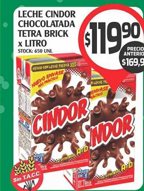 Supermercados Malambo Leche Cindor Chocolatada Tetra Brick
