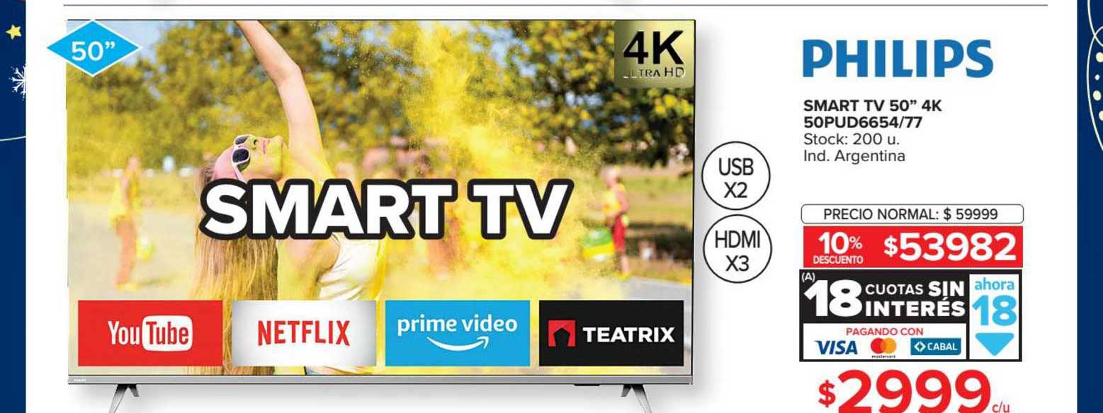 Carrefour Smart TV 50