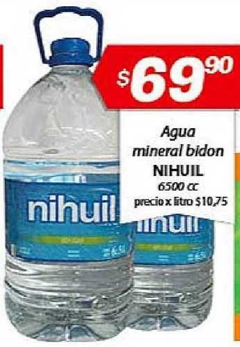 Almacor Agua Mineral Bidon Nihuil