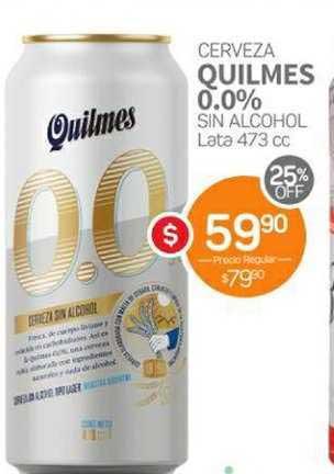 Super Alvear Cerveza Quilmes 0.0% Sin Alcohol Lata