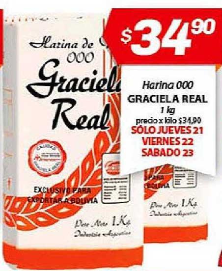Almacor Harina 000 Graciela Real