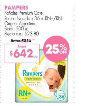 Simplicity Pampers Pañales Premium Care