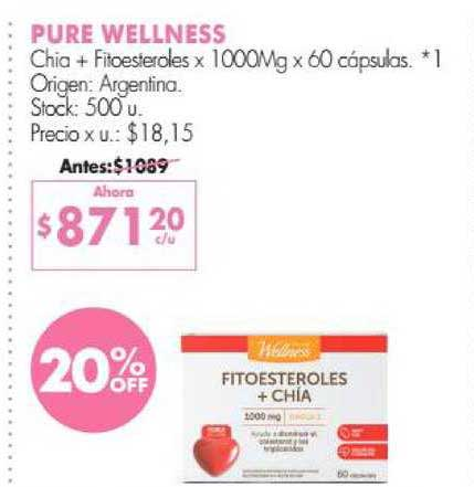 Simplicity Pure Wellness Chia+ Fitoesteroles
