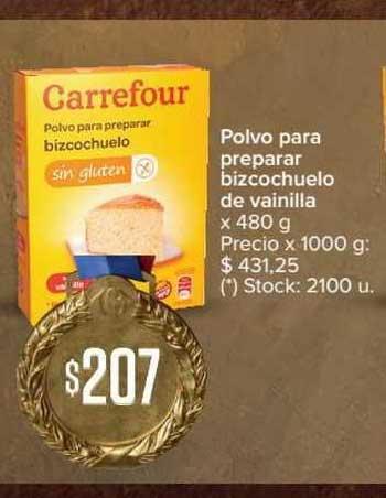 Carrefour Express Polvo Para Preparar Bizcochuelo De Vainilla