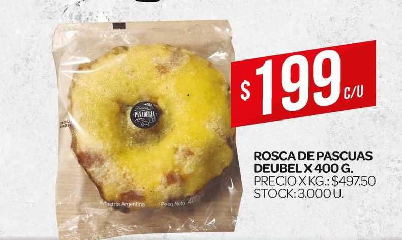 Supermercados DIA Rosca De Pascuas Deubel