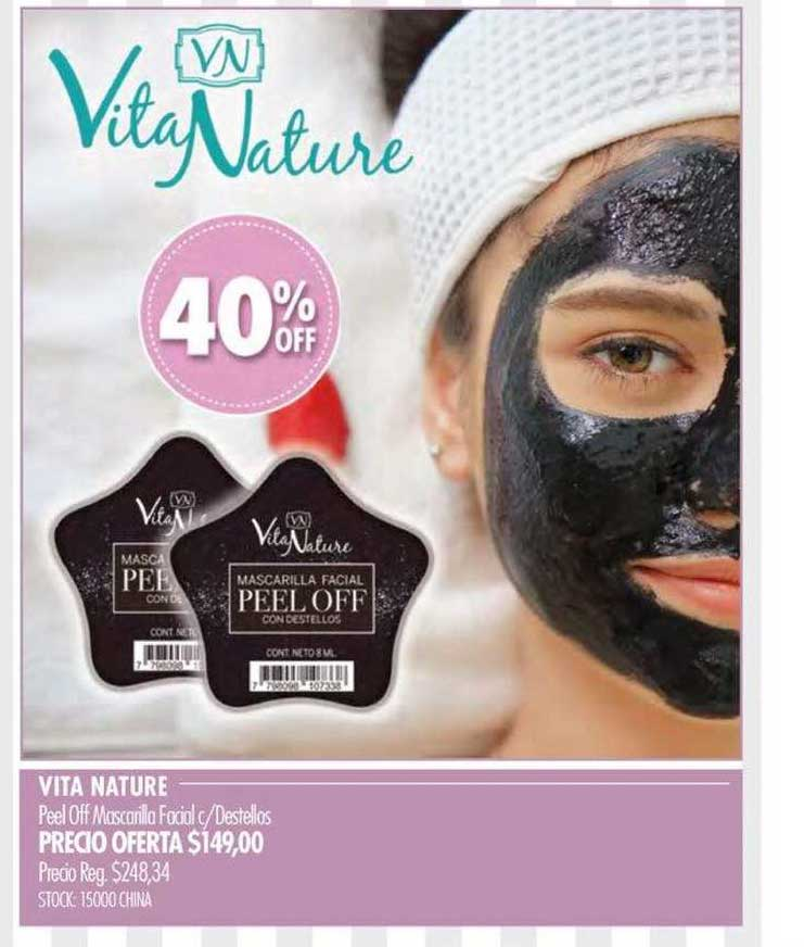 Pigmento Vita Nature Peel Off Mascarilla Facial C-destellos