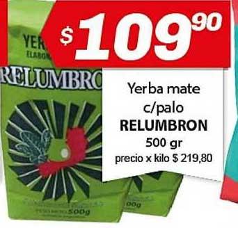 Almacor Yerba Mate C-palo Relumbron