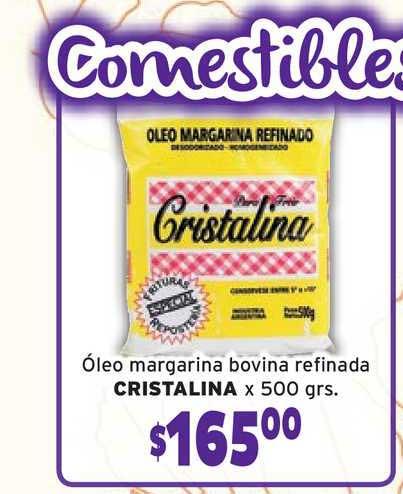 Único Supermercados Oleo Margarina Bovina Refinada Cristalina X 500grs.