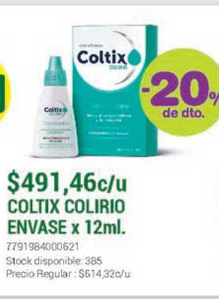 La Santé Coltix Colirio Envase -20% De Dto